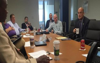STB Chairman Daniel Elliott meets with SMA's Transportation Committee