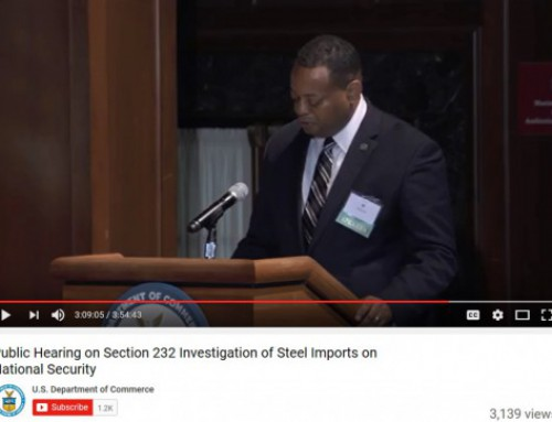Phil Bell, President, SMA, Testifies at U. S. Department of Commerce