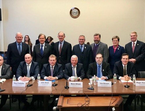 Steel CEOs Testify At Steel Caucus Hearing