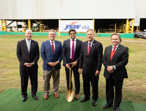 JSW USA BREAKS GROUND ON NEW FACILITY IN BAYTOWN