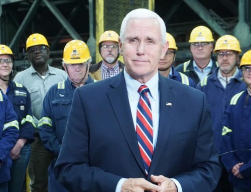 Vice President Mike Pence Visits Gerdau in Minnesota