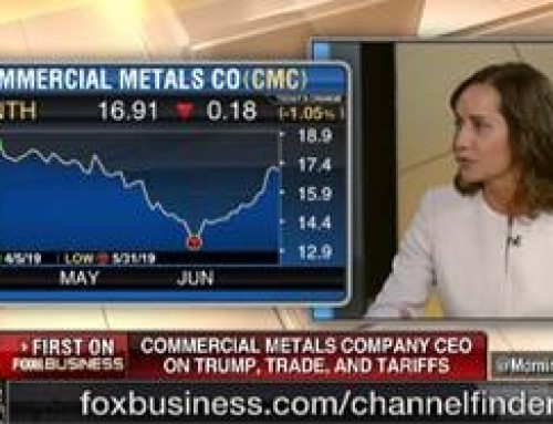 WATCH: CMC CEO Discusses the State of the Steel Industry on Fox Business News