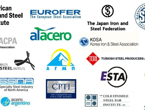 Global Steel Groups Urge the Global Forum on Steel Excess Capacity to Expand Efforts to Address Growing Steel Crisis